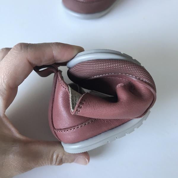 Zapato Feroz modelo Garbí - flexibilidad de la suela