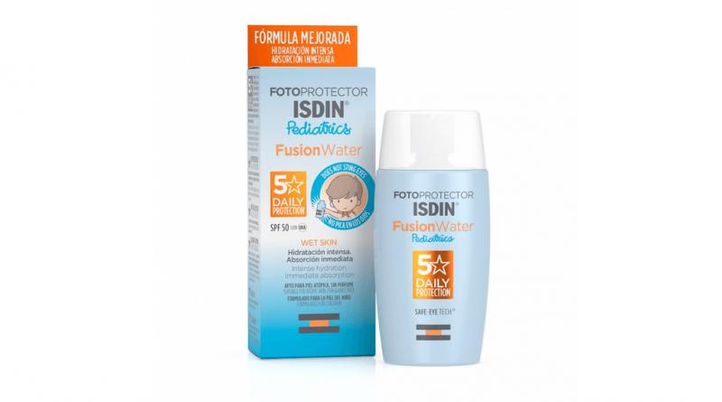 Opinión sobre el fotoprotector ISDIN Fusion Water Pediatrics